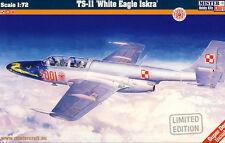 MC PZL TS-11 White Eagle & Red Iskra Polen India Indien 1:72 Modell-Bausatz kit