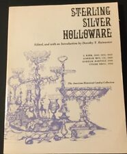 Vtg 1973 Sterling Silver Holloware Catalog By Rainwater American Collection