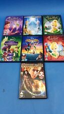 Disney Tinker Bell ~ Peter Pan 7 DVD Bundle Set Universal Excellent Condition