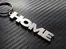 HOME Sweet Home House New Move Keyring Keychain Key Fob Bespoke Stainless Steel