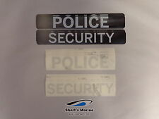 Segway Police/Security Reflective Decal Kit for i2 and x2 20652-00001