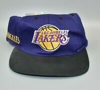 Los Angeles Lakers Twins Enterprise Spell Out NBA Vintage 90's Snapback Cap Hat