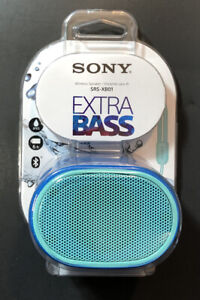 Sony Bluetooth Wireless Speaker [ Extra Bass SRS-XB01 / Blue Edition ] NEW