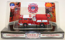 Code 3 Classics 1/64 Scale Model Mack Fire Engine 12370 Fire Dept New York