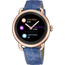 Festina Smartime F50001-1 Rose Gold Tone Case With Blue Denim Strap Smartwatch