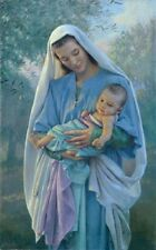 Kathy Lawrence LOVE'S PURE LIGHT - 14x11 double matted print, Madonna and child