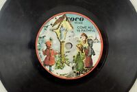 1959 Voco - Holiday Christmas 78 RPM - Come All Ye Faithful/Silent Night K12