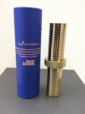 Tom Dixon Cog Tall Container Brass BNIB