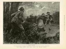 1886 - Antique Print FINE ART World Went Well Walter Besant Man Gun  (169)