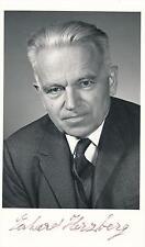 Nobel Prize Winner Gerhard Herzberg- Vintage Signed Photograph