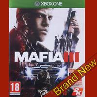 MAFIA III 3 includes family kick-back - Xbox ONE ~18+ Brand New & Sealed