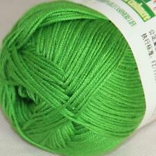 Sale New 1ballX50g Soft Baby Socks Natural Smooth Bamboo Cotton Knitting Yarn 05