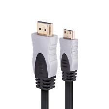 Cables y adaptadores de video de HDMI estándar macho a HDMI Mini macho para TV y Home Audio
