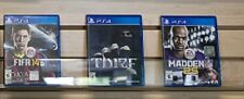 Lot of 3 PS4 Games- Thief, FIFA 14, Madden 25