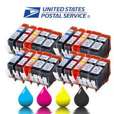 20PK High Yield Ink Cartridges for PGI-220XL CLI-221XL MP620 MP640 MX860 MX870