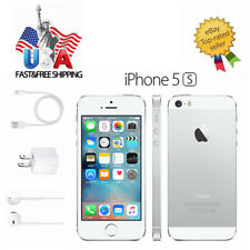 New-Other Apple iPhone 5s 16GB Silver (Factory Unlocked) Smartphone A1533 GSM