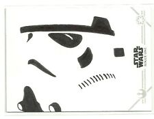 Topps Star Wars Rogue One Series 2 Stormtrooper Sketch Card by Kevin Liell
