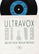 Ultravox ORIG UK PS 45 Reap the wild wind NM '82 New romantic New wave