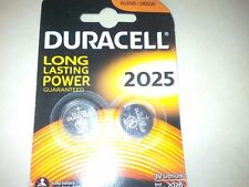 Duracell Coin Cell Battery 2025, DL2025, NEW  UK FREE POST 3V Lithium  BR2025,