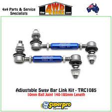 SuperPro Adjustable Sway Bar Link Kit Colorado RG Isuzu DMAX TRC1085