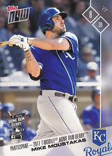 2017 Topps NOW HRD-4 Mike Moustakas KC Royals All Star T-Mobile Home Run Derby