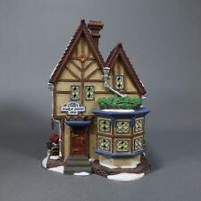 Dept 56 Dickens Village Lydby Trunk & Satchel Shop Christmas w/ Light