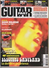 GUITAR PART N°174 + DVD ELECTRIC LADYLAND / FISHBONE / PEDALBOARDS / D MALAKIAN