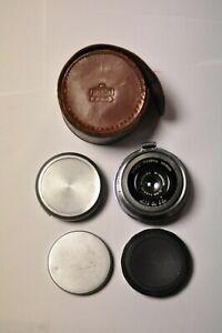 Nikon Nippon Kogaku Type II 3.5cm f3.5 S mount RFDR MIOJ lens. Ser.  #91040.