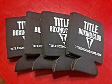 Lot of 4 Title Boxing Club Coozies