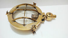 MARITIME VINTAGE ANTIQUE MARINE SHIP BRASS  PASSAGE LIGHTS 100% ORIGINAL