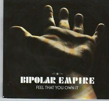 (DX432) Bipolar Empire, Feel That You Own It - 2011 CD