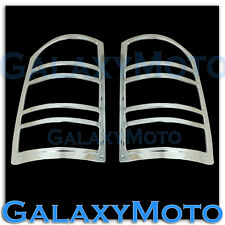07-13 GMC Sierra 1500+2500+3500+HD Chrome Taillight Tail Light Trim lamp Cover