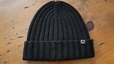 Ugg Australia Mens Black Knit Cuffed Ski Beanie Hat Cap NWOT!!