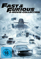 FAST & FURIOUS  - 8 MOVIE-COLLECTION -  DVD