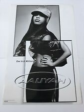 Very Rare Aaliyah One In A Million Large 20x30 1996 Promotional Poster!