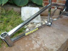 Old School Vintage BMX Mongoose  Expert  frame with issues 1985 patina rust