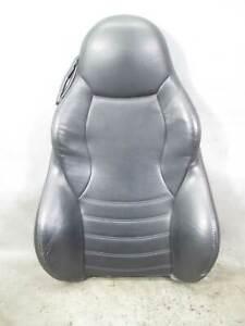 1998-2002 BMW E36/7 Z3 M Roadster Right Passengers Seat Backrest Black Napa Heat