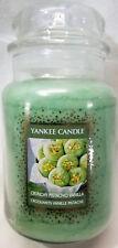 Yankee Candle CRUNCHY PISTACHIO VANILLA Large Jar 22Oz Green Cookie Swap Wax