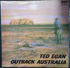 TED EGAN OUTBACK AUSTRALIA VINYL LP AUSTRALIA