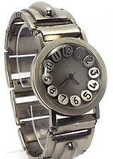 Fashion Style , Big Number  dial Man Watch