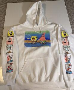Spongebob Squarepants Hoodie Sweatshirt - NWOT- Size L
