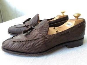'Carmina' pebbled grain tassel loafer  8EE
