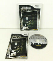 Resident Evil Archives: Resident Evil Video Game (Nintendo Wii, 2009) COMPLETE