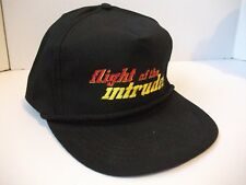 Vintage Flight Of The Intruder Paramount Hat Black Snapback Rope Baseball Cap