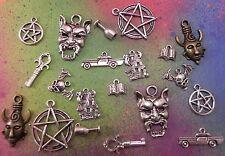 Supernatural Dean Amulet Devil Silver Bronze Charm Pendant Lot Gift Set Jewelry
