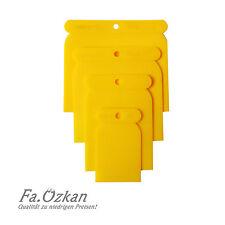 Spachtelsatz 4-tlg Karosseriespachtel Spachtel Kunststoffspachtel Japanspachtel