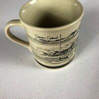 Squaw Island Coffee Mug VTG Drink Hyannis Harbor The Compound Hyannisport Cup