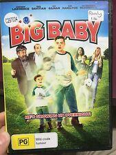 Big Baby ex-rental region 4 DVD (2015 family movie)