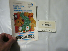 Megalegs, Atari 400 / 800, Cassette 16K (Megasoft, 1982)