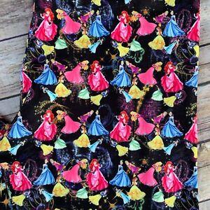 Princess Belle Ariel Aurora Cinderella Snow Women's Leggings TC Plus Size 12-20